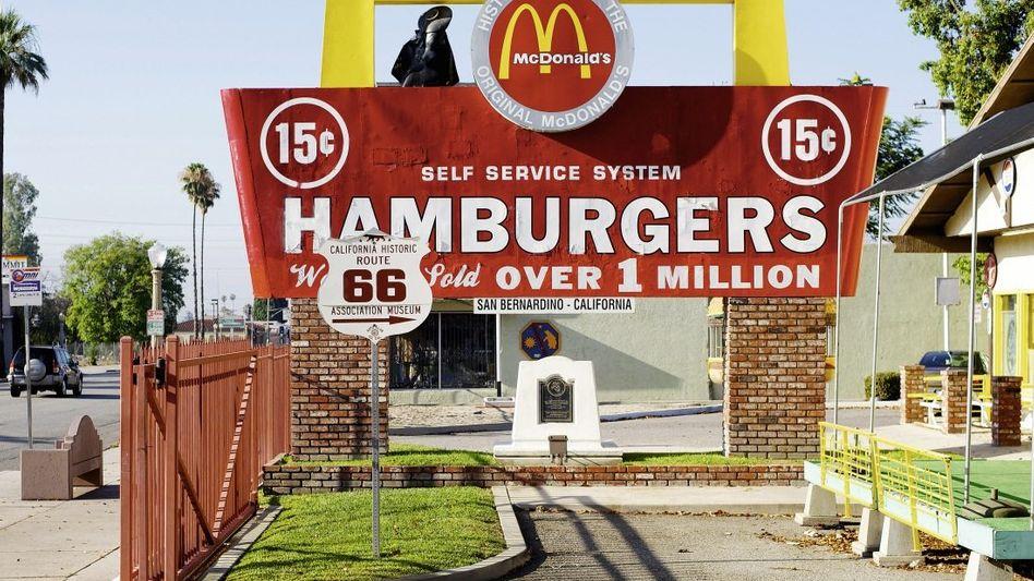 McDonald's-Museum in San Bernardino