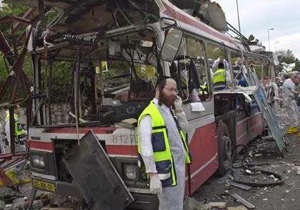 """Selbstmordattentat in Haifa: """"Das Herz Israels getroffen"""" - DER SPIEGEL"""