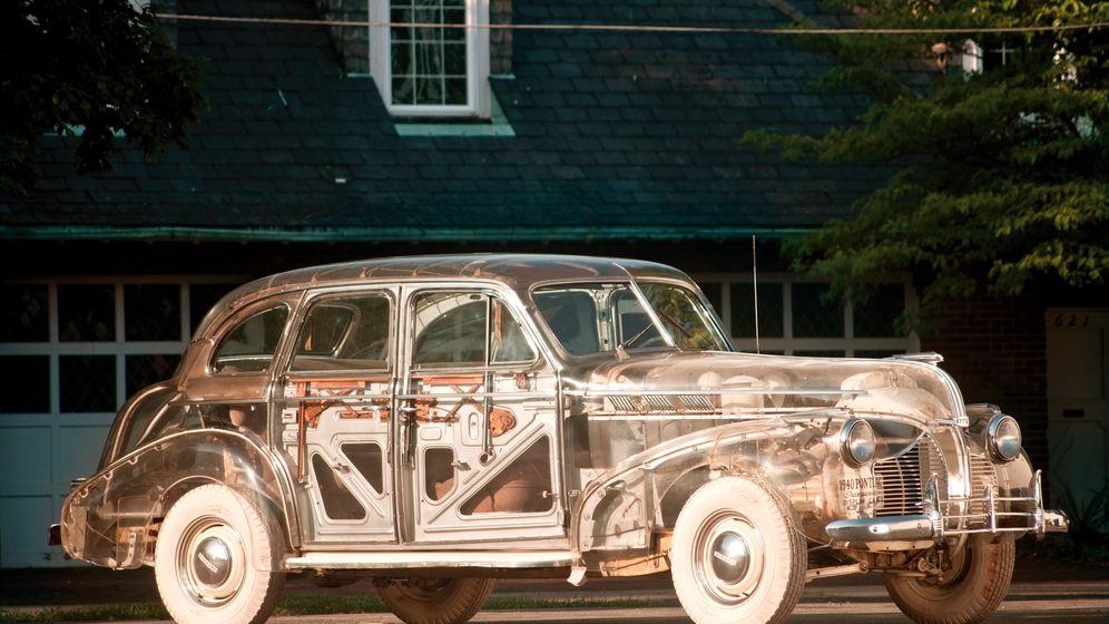 Pontiac Ghost Car: Voller Durchblick