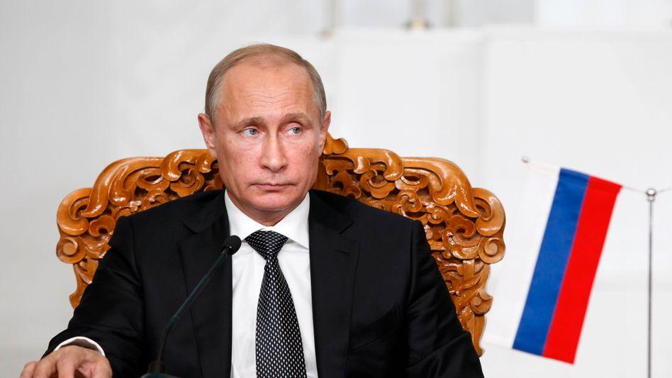 """Russischer Präsident Putin: """"Schutz russischer und russischsprachiger Bürger"""""""