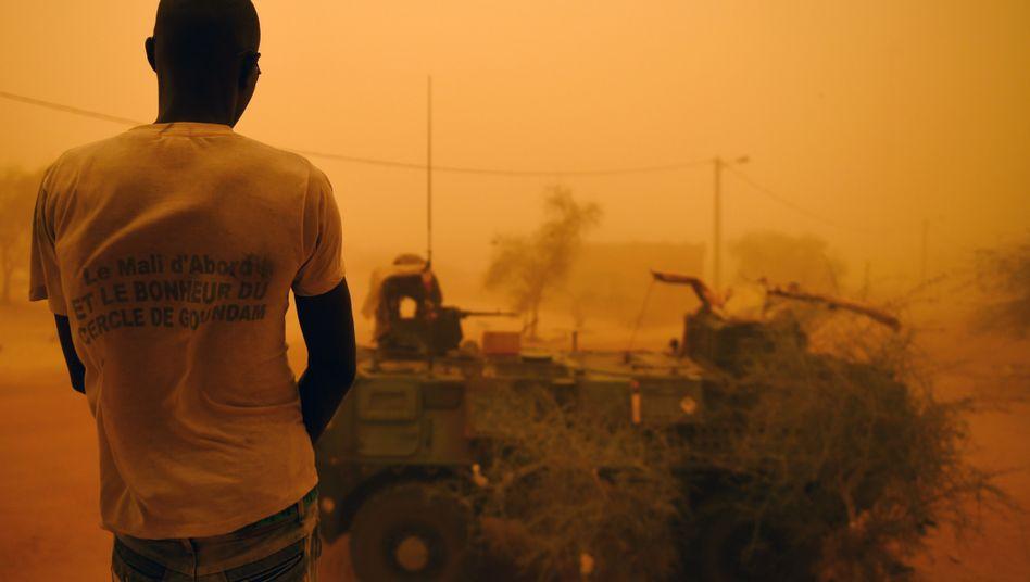 Militärfahrzeug in Mali (Archivbild): Demnächst Einsatzort von 400 deutschen Soldaten