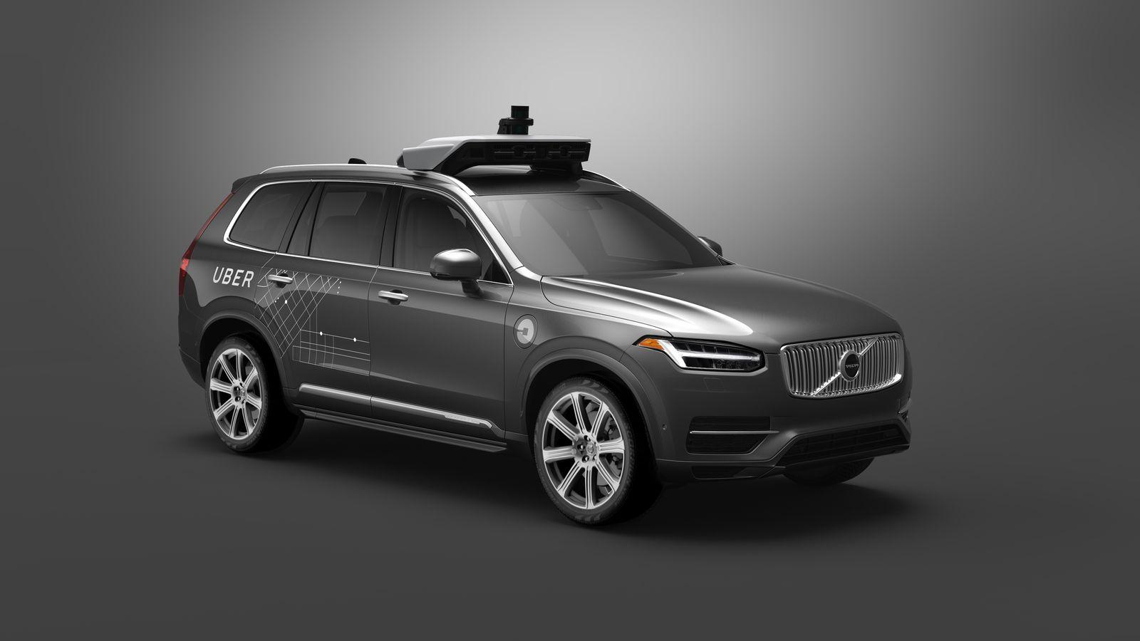 Uber / Selbstfahrendes Auto / Volvo XC90 P2