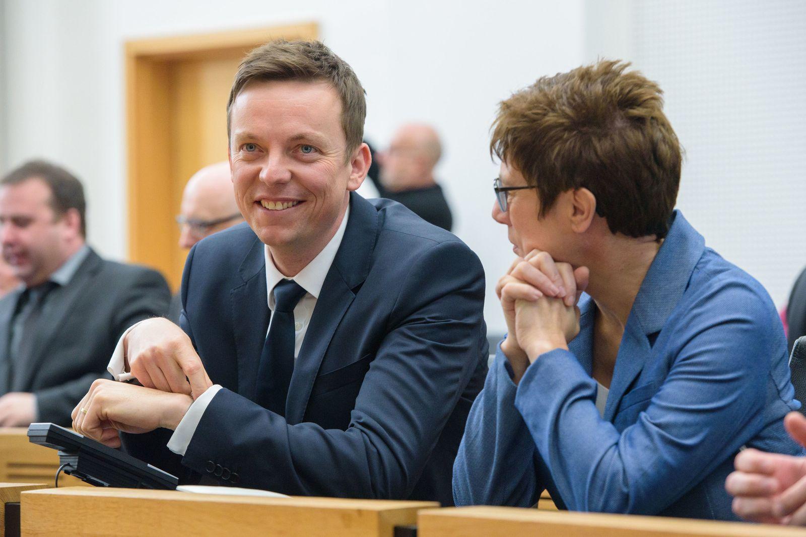 Tobias Hans zum neuen Ministerpräsidenten gewählt