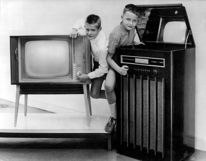 Nostalgische Erinnerung an den ersten Fernseher