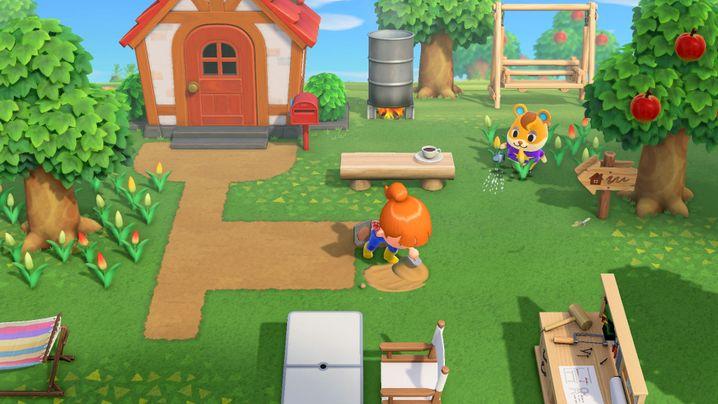 """""""Animal Crossing: New Horizons"""" von Nintendo für Nintendo Switch, 60 Euro"""