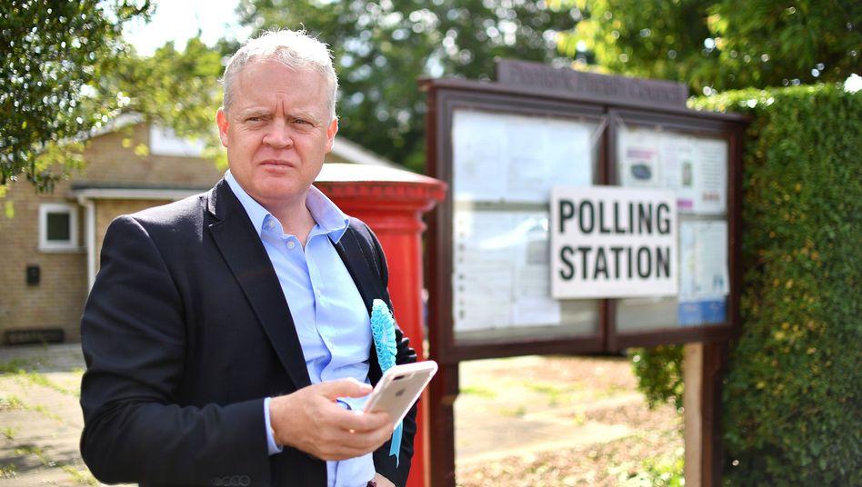 Verlor die Nachwahl: Mike Green von der Brexit-Partei