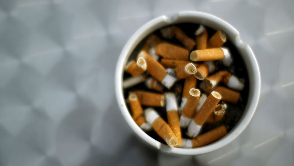 Durchschnittlicher Pro-Kopf-Verbrauch in Deutschland: 1004 Zigaretten