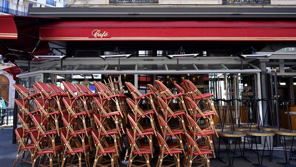 Seit Oktober 2020 sind die Restaurants in Frankreich offiziell geschlossen