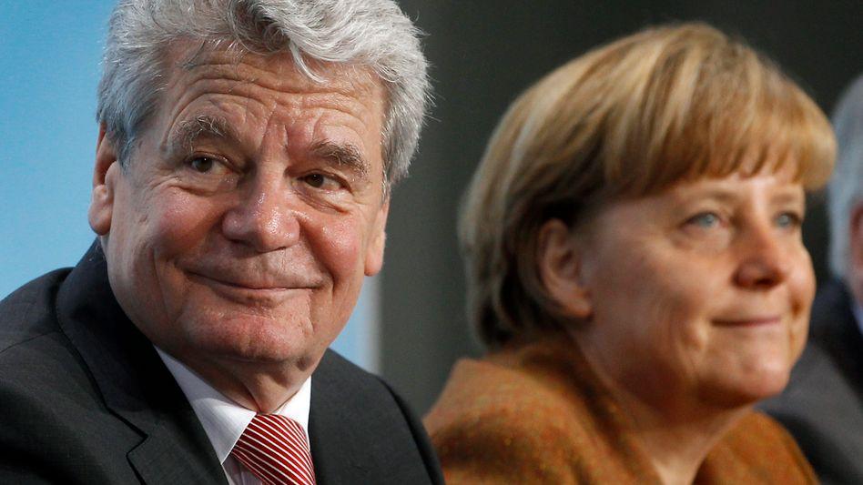 Protestanten Gauck, Merkel: Abkehr vom rheinischen Katholizismus an der Spitze