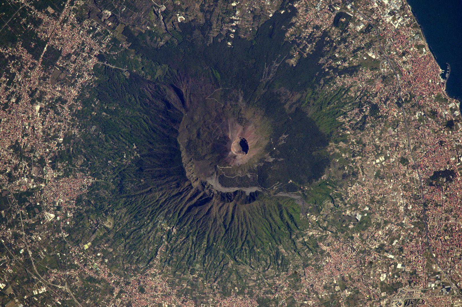 Satellitenbild Vesuv