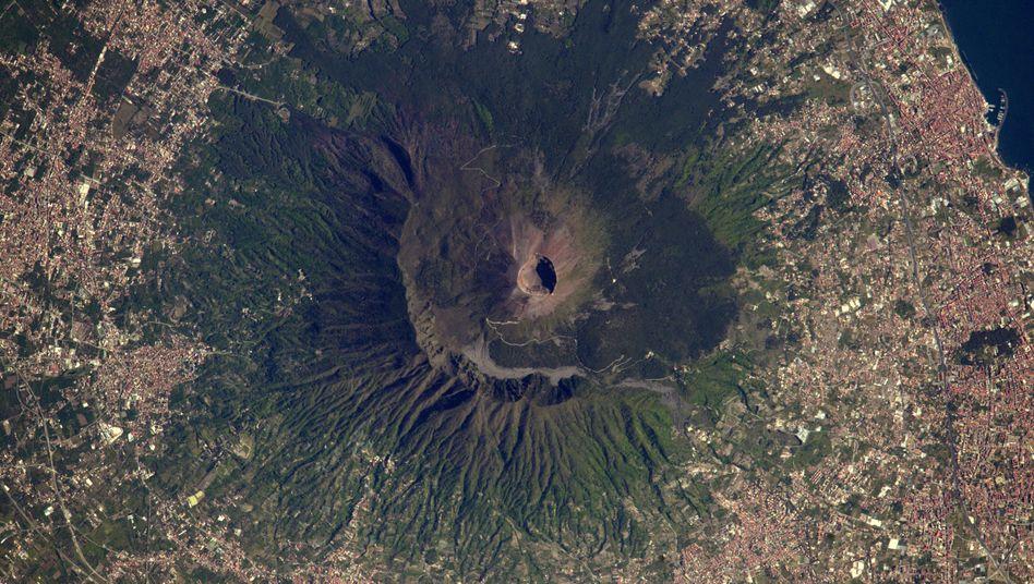 Vesuv von oben