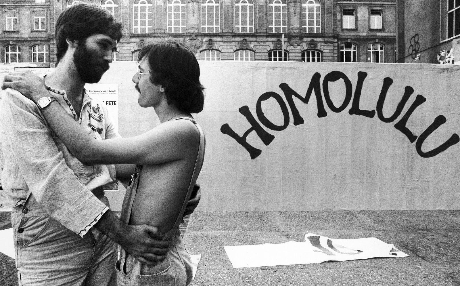 Germany Frankfurt Homosexual Meeting