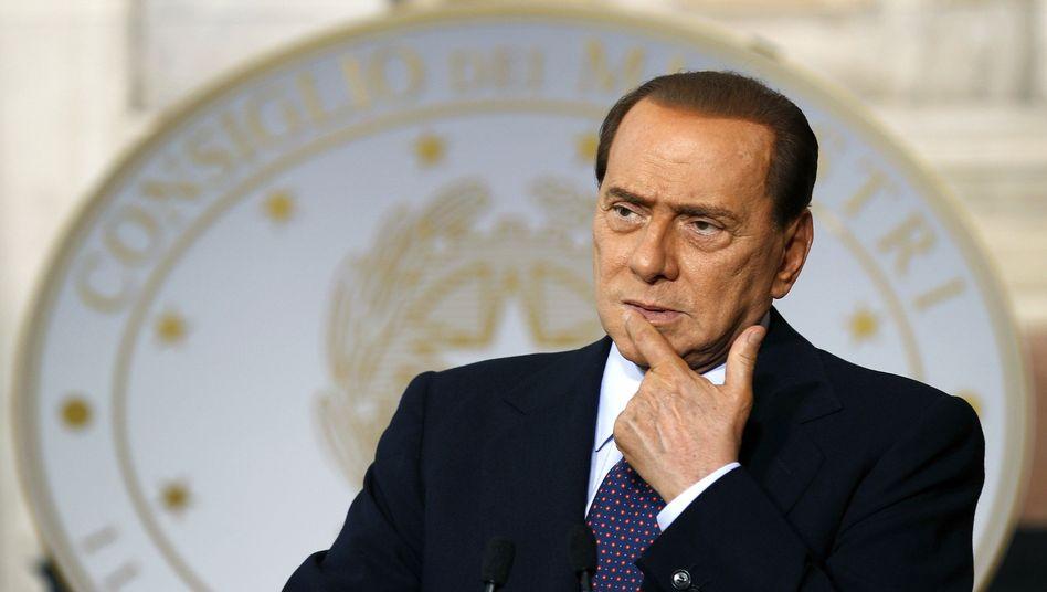 """Italiens Premier Berlusconi: """"Ein ernstes Problem für den Staat"""""""