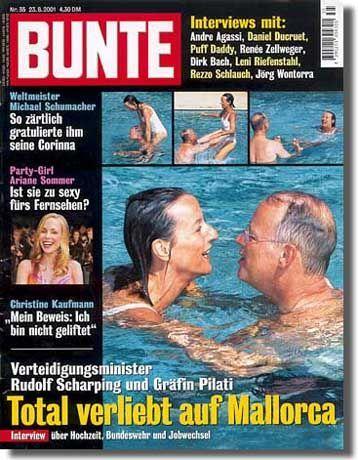 """""""Bunte""""-Titel: """"Neckische Wasserspiele"""""""