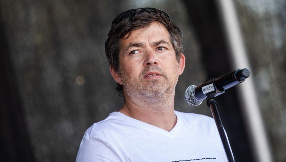 Michael Ballweg (im Mai in Stuttgart): »Aus diesem Grund, werde ich auf Weiteres keine Großdemonstrationen mehr anmelden«