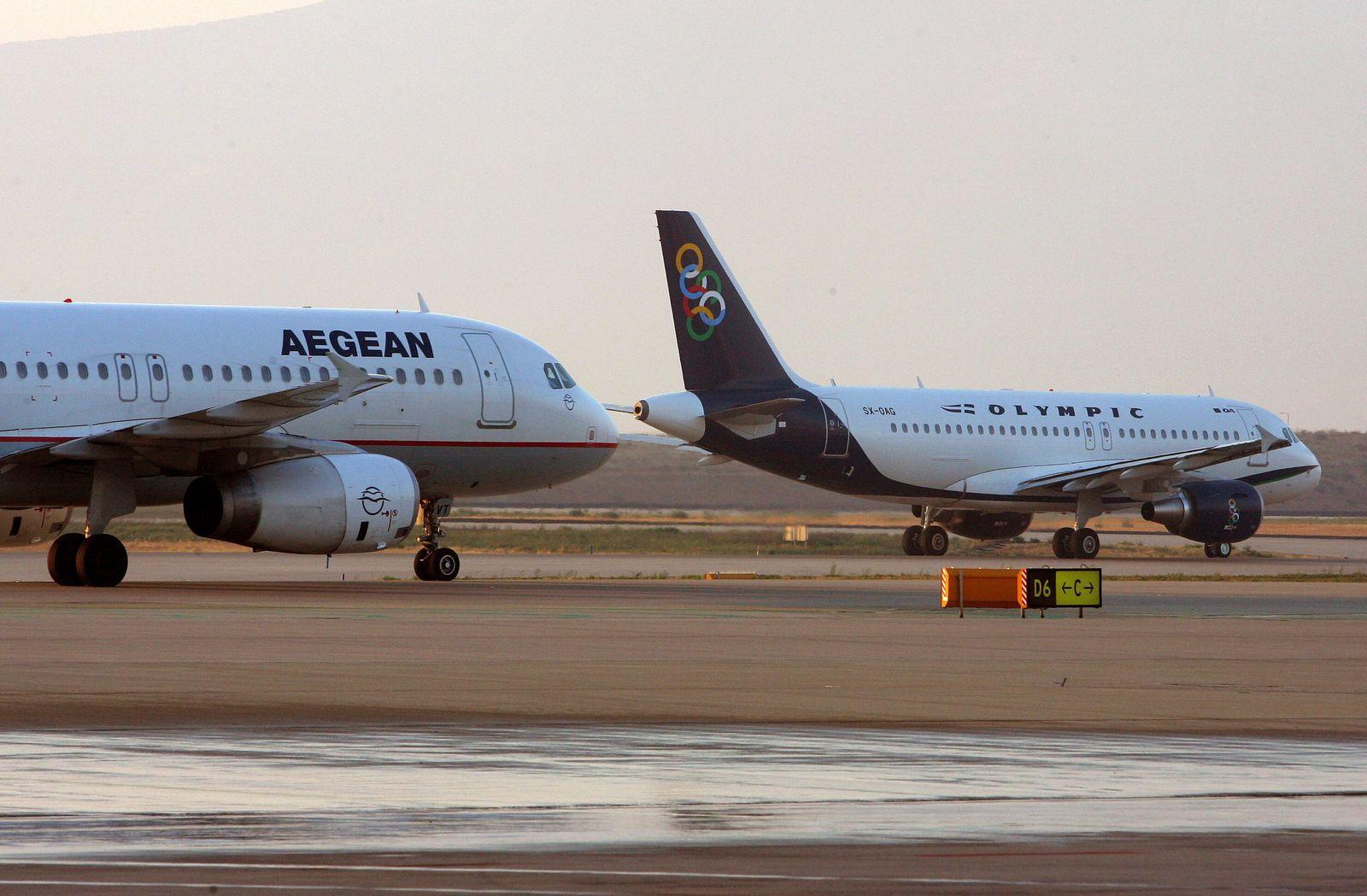 Aegean Airline Athen, Griechenland