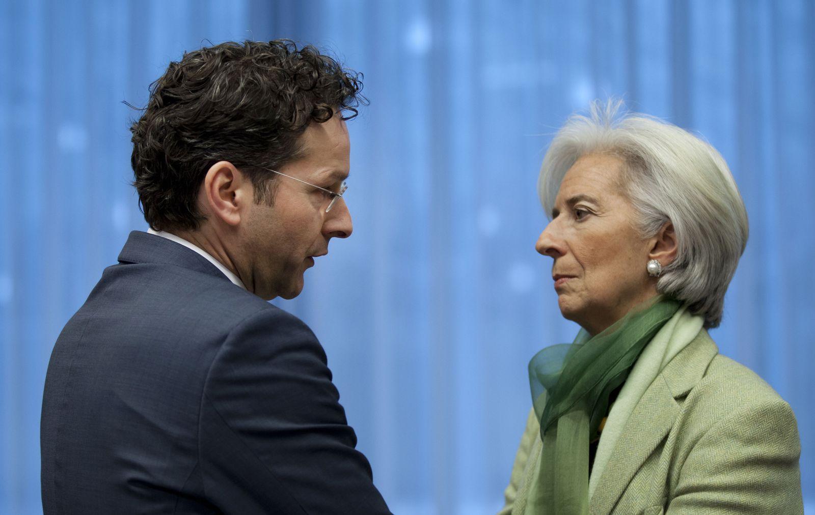 Jeroen Dijsselbloem, Christine Lagarde