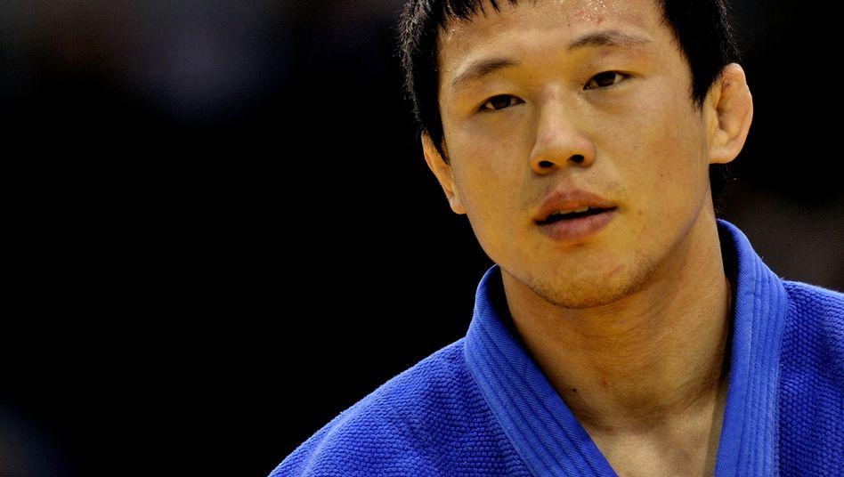 Judoka Wang im Jahr 2013