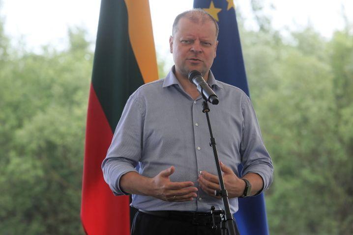 """Regierungschef Saulius Skvernelis: """"Ein Sieg der Menschlichkeit"""""""