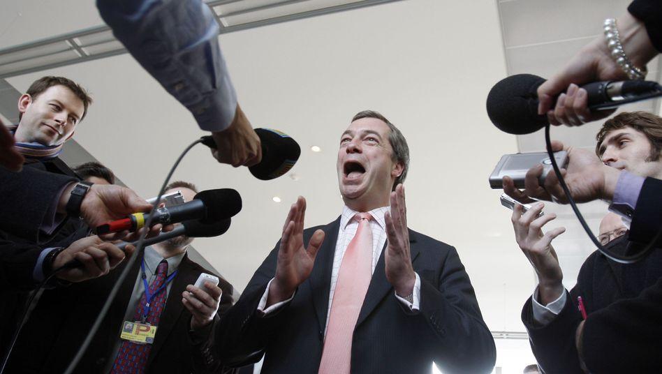 Nigel Farage: Der Eklat gehört für ihn zum politischen Geschäft