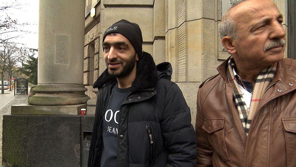 Clan-Mitglied Khalil El Zein vor dem Berliner Kriminalgericht (Archivbild): Falscher Beamter