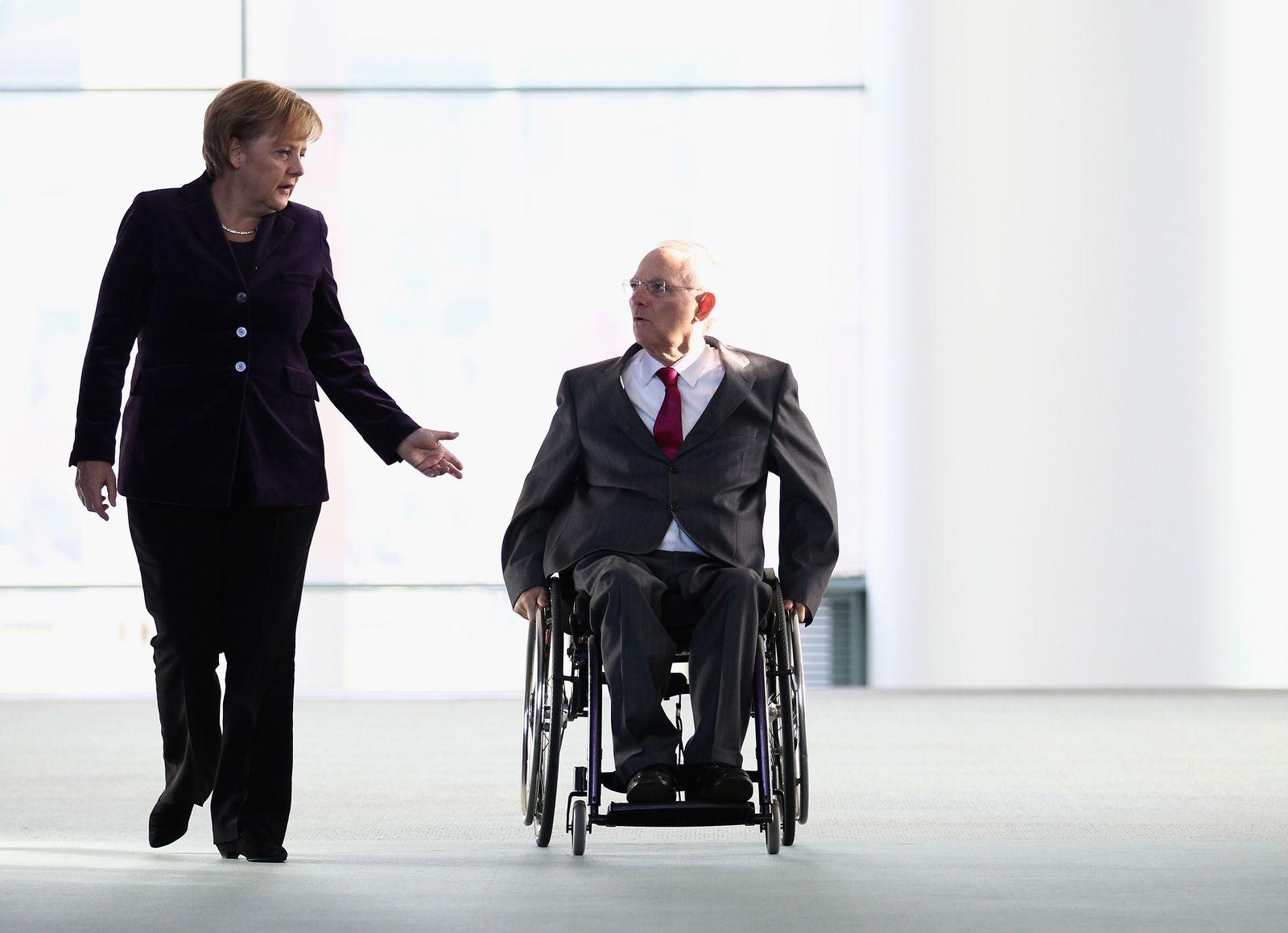 Merjel, schäuble