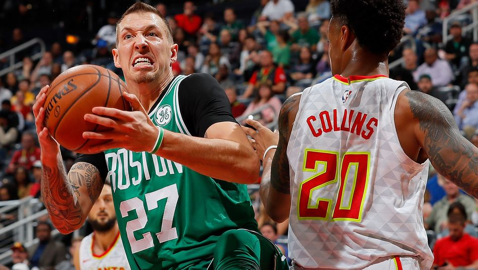 "Daniel Theis als Nummer 27 bei den ""Boston Celtics"""