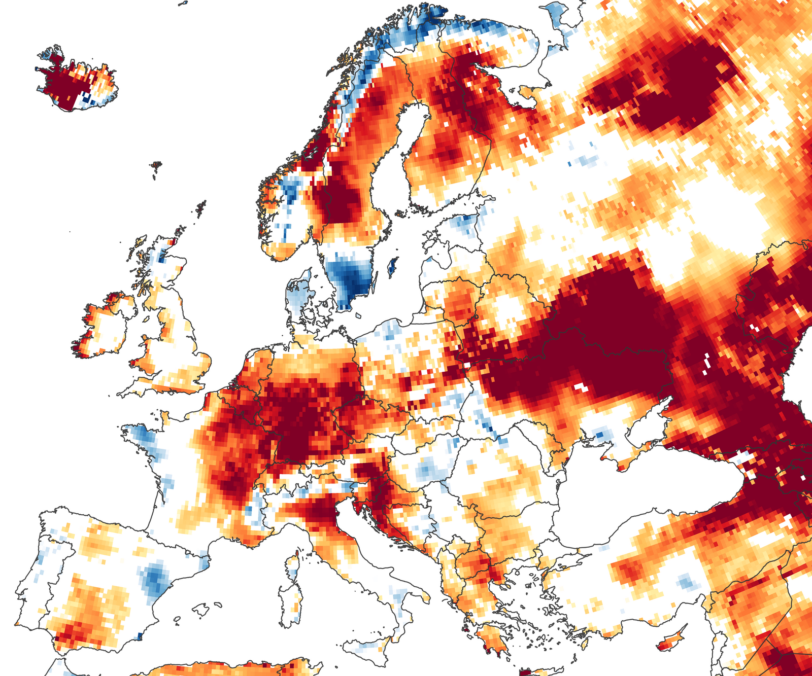 Signs of Drought in European Groundwater