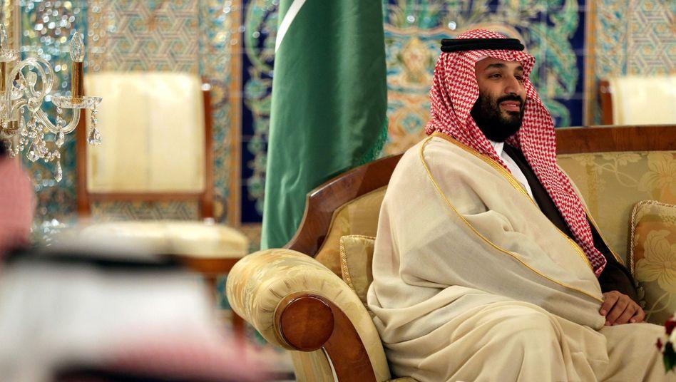 Kronprinz Mohammed bin Salman: Braucht die Frauen für die Wirtschaft