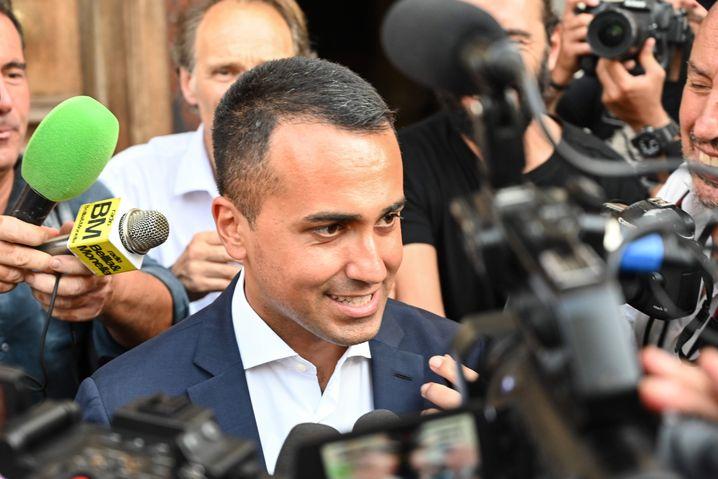 Luigi Di Maio: Der Fünf-Sterne-Politiker hat an Profil verloren, Premier Conte gewonnen
