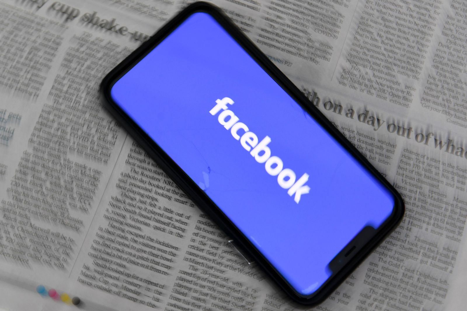 Facebook blocks Australian users from viewing and sharing news, Canberra, Australia - 18 Feb 2021