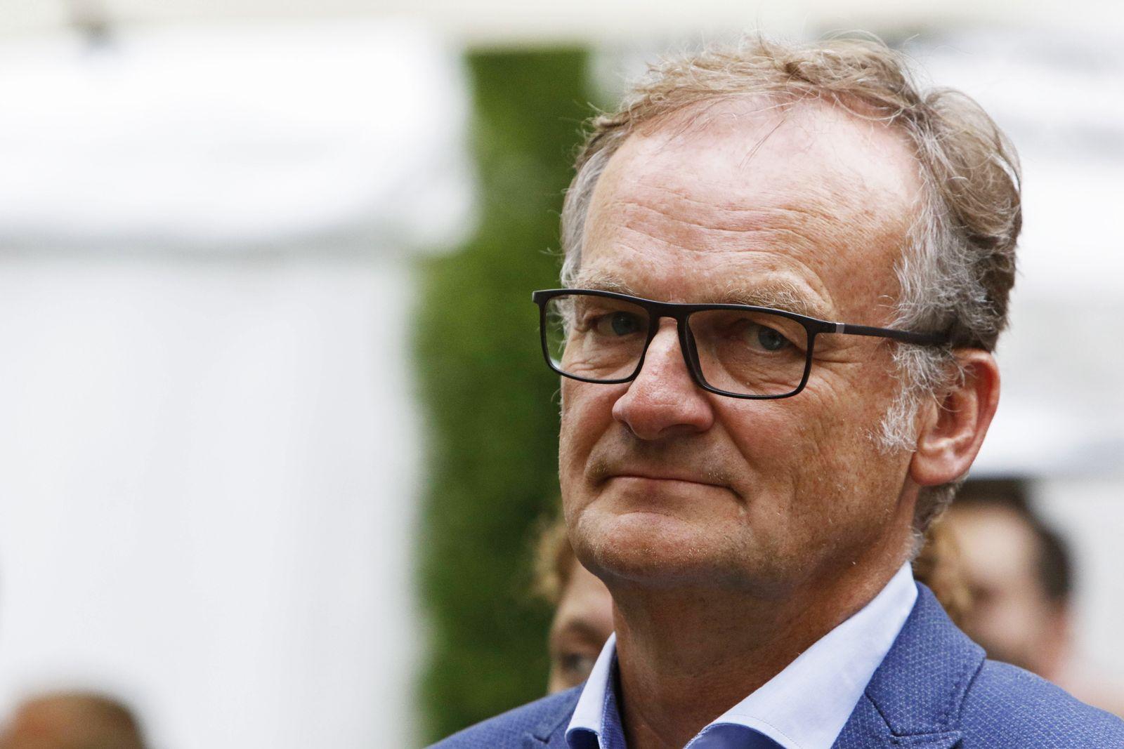 Germany: Nibelungen-Festspiele 2019 premiere TV host Frank Plasberg is pictured before the premiere of the Nibelungen-