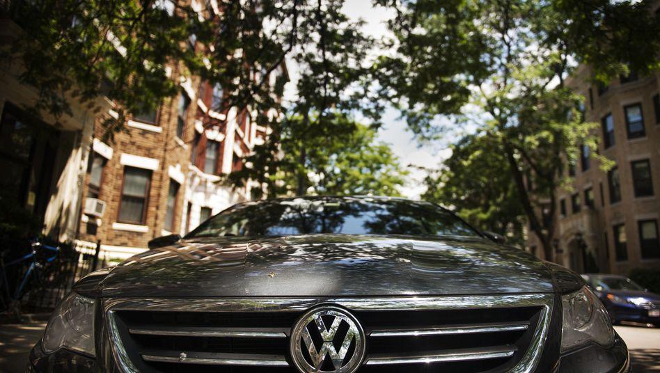 Geparkter Volkswagen