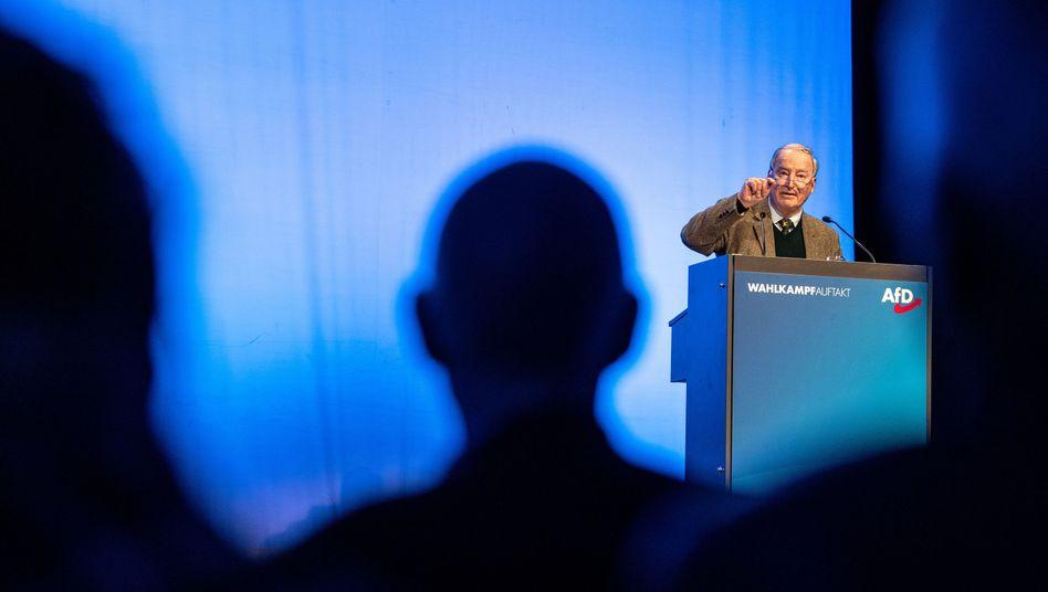 Alexander Gauland beim AfD-Wahlkampfauftakt