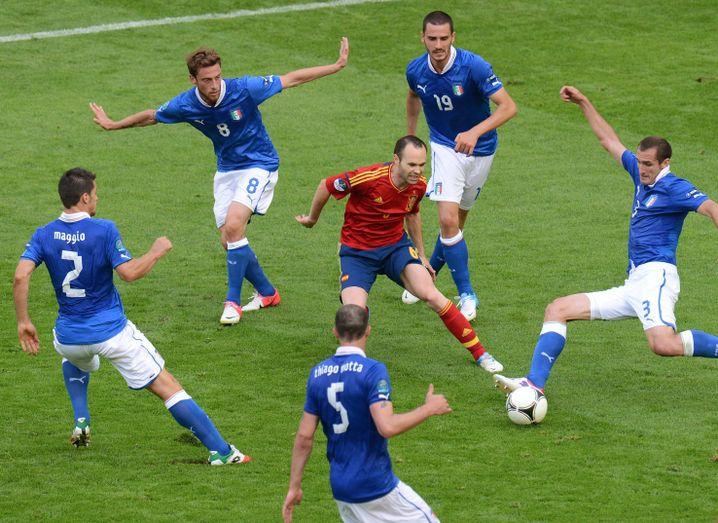 Spiel Spanien Italien