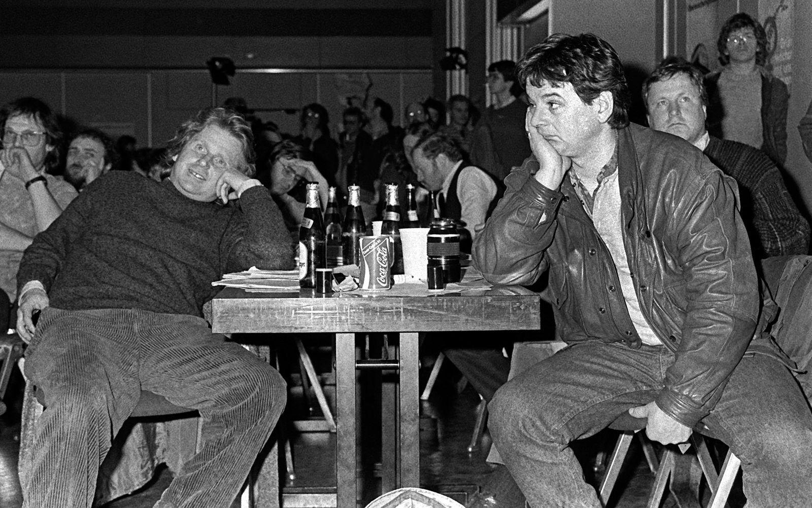 Cohn-Bendit / Joschka Fischer / 68er Bewegung