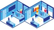Das Büro der Zukunft – in Grafiken erklärt