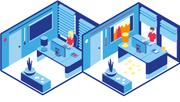 Das Büro der Zukunft - in Grafiken erklärt