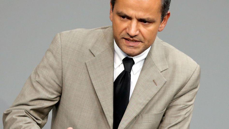 Innenpolitiker Edathy: Niederlegung des Bundestagsmandats