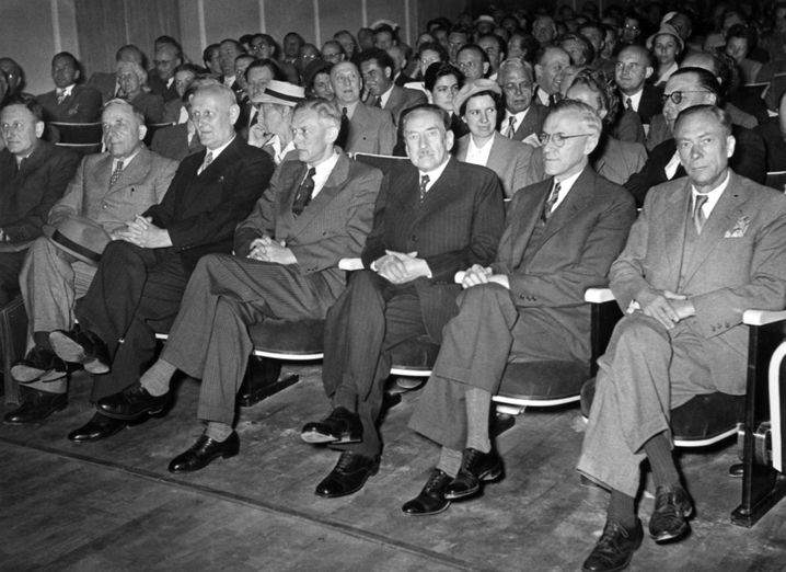 Treffen von Nobelpreisträgern 1951 in Lindau am Bodensee