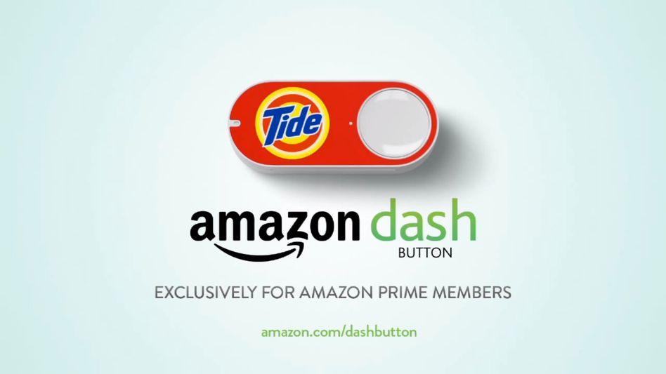 Amazon Dash: Hässliche Buttons zum Aufkleben in Küche und Haushalt