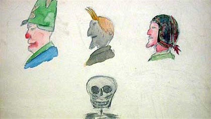 Nazi-Kunsterziehung: Blümchen und Stahlhelme