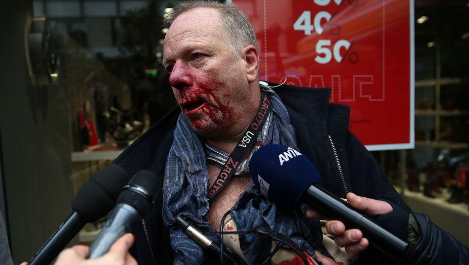 Thomas Jacobi in Athen: Viereinhalb Minuten lang verprügelt