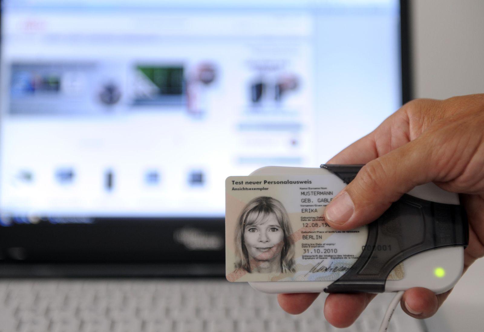 NICHT VERWENDEN Elektronischer Personalausweis