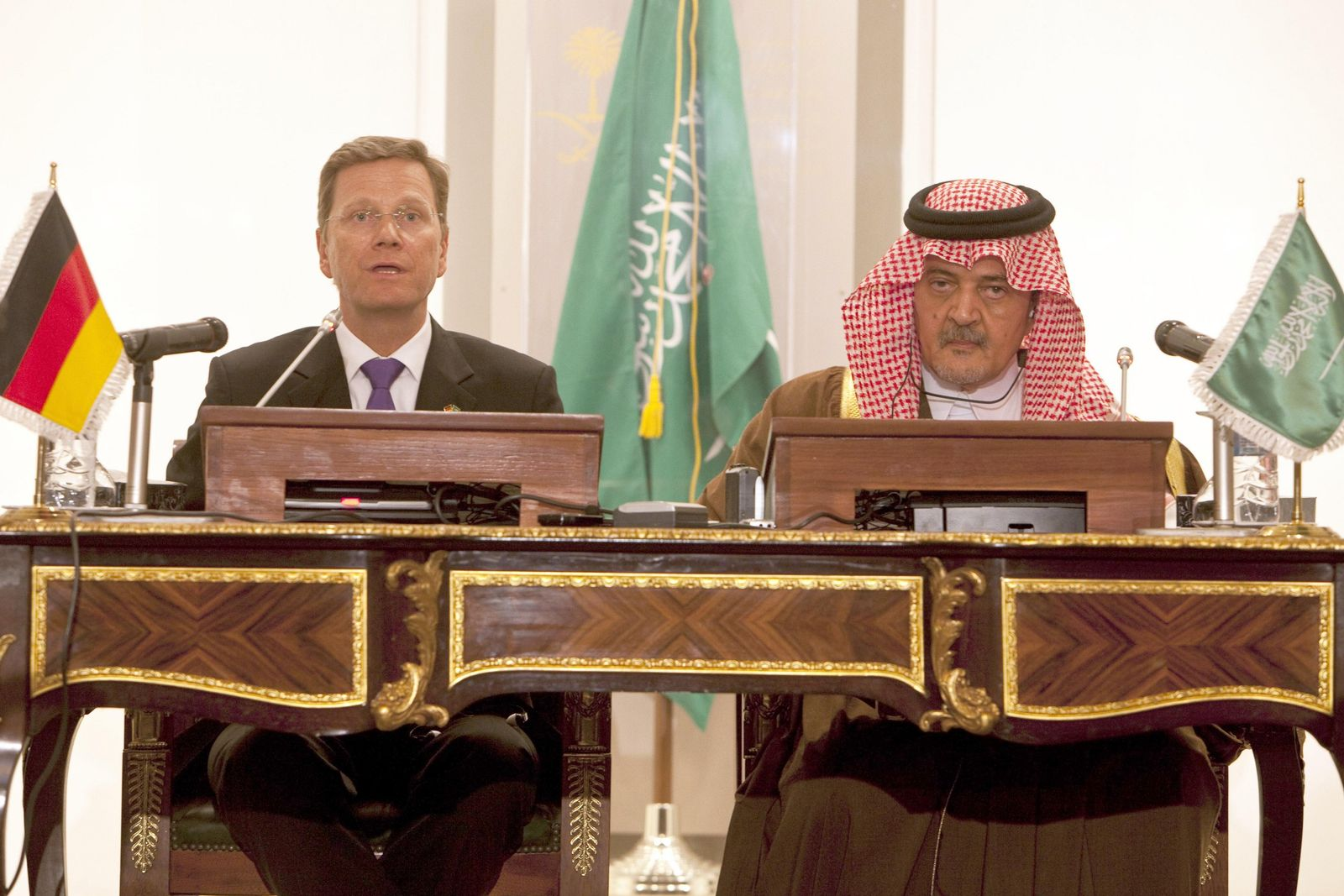 Westerwelle in Saudi-Arabien