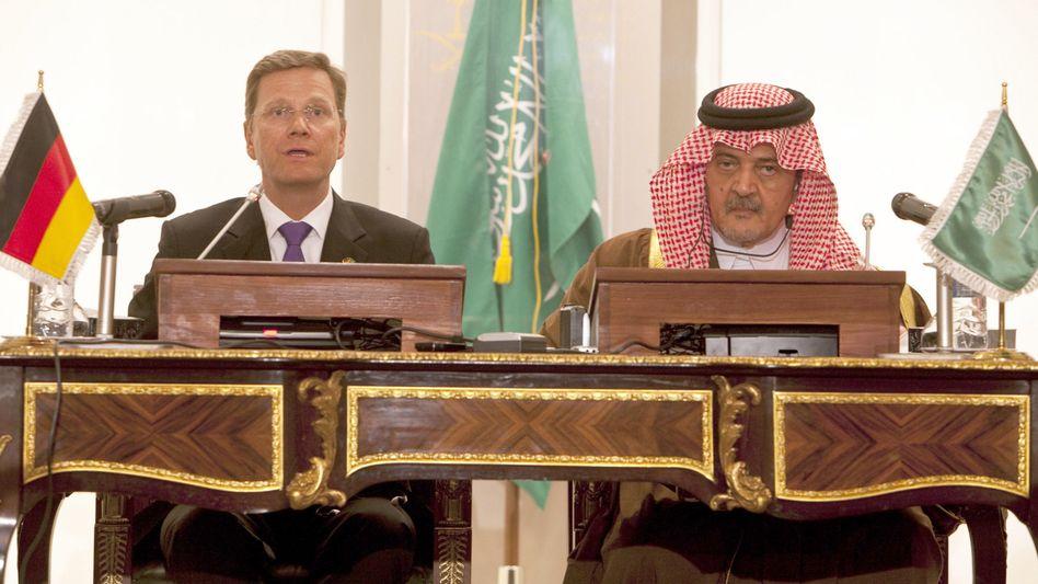"""Außenminister Westerwelle und Prinz Saud al-Faisal: """"Interesse an einem stabilen Jemen"""""""