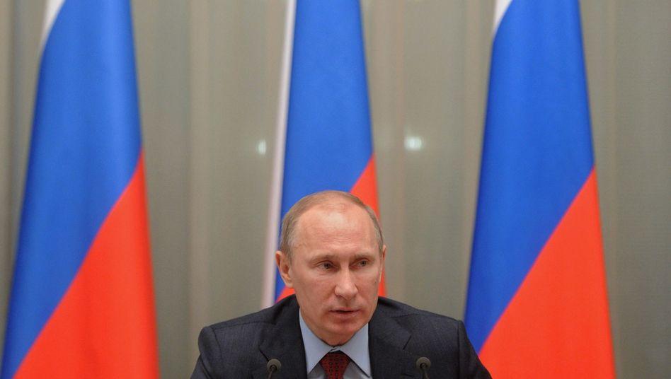 Russlands Premier Putin: Laut Staatsfernsehen wurde ein Anschlag auf ihn geplant