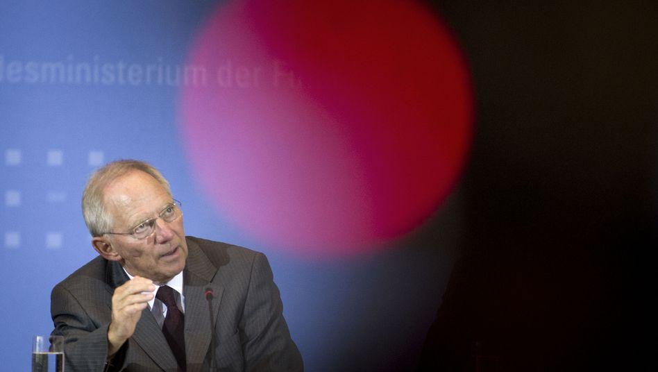 """Wolfgang Schäuble: """"Ankauf von CDs gerechtfertigt"""""""