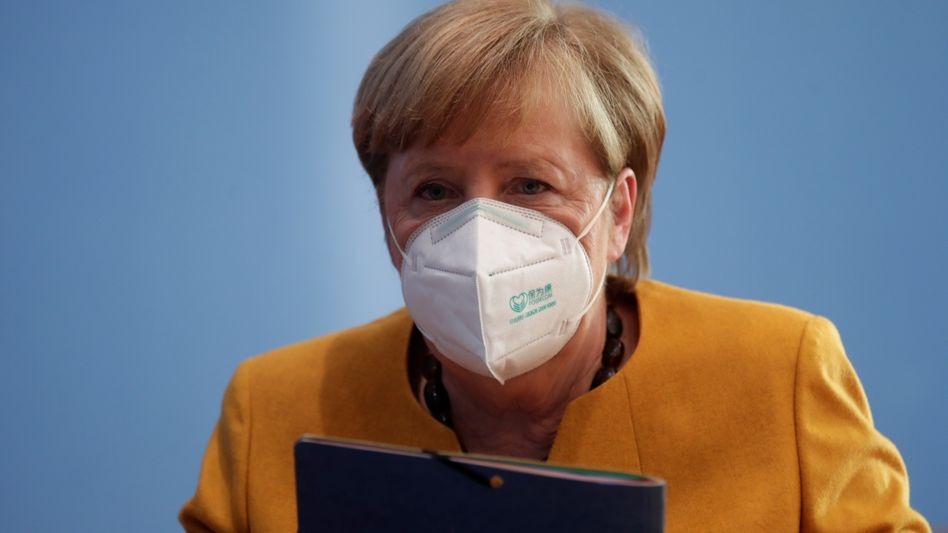 Angela Merkel: Beratungen sind für den Montag geplant