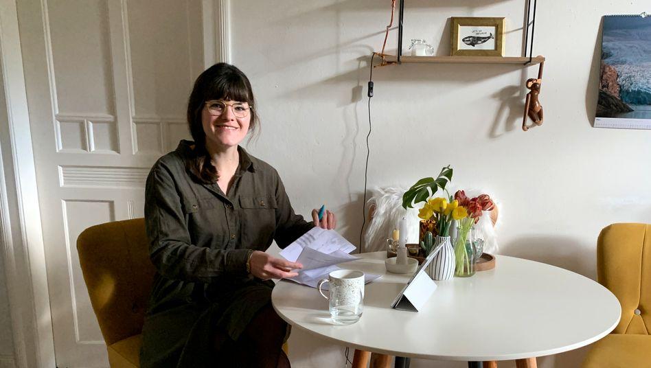 """Hebamme Friederike Häring: """"Mittlerweile mache ich nur noch Notfall-Termine"""""""